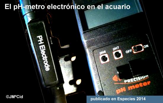 El pH-metro electrónico en el acuario